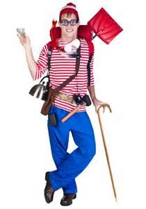 wheres waldo costume where s waldo on where s waldo costume costumes for guys and easy