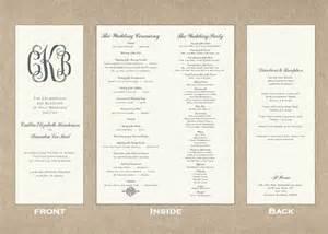 Wedding Programs Example Tall And Skinny Wedding Program Lovelovelove Pinterest