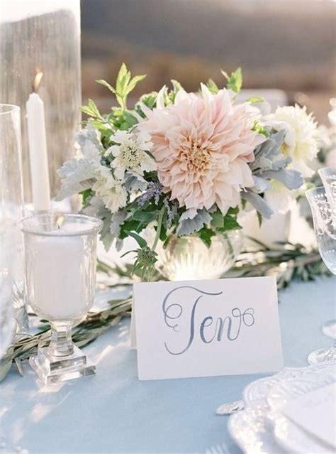 38 Dusty Blue And Blush Wedding Ideas   HappyWedd.com