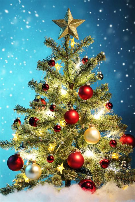iphone hd christmas tree wallpaper tree iphone wallpaper hd