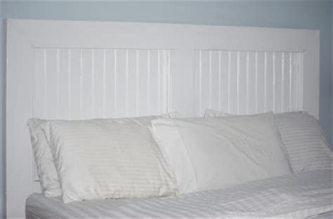 white beadboard headboard new every morning finishing the collection 12 years later