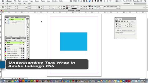 indesign online tutorial adobe indesign tutorial understanding how to wrap text
