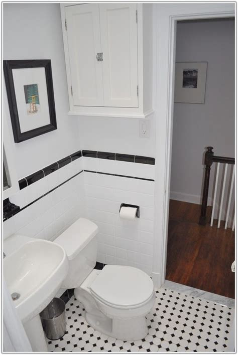 black and white subway tile bathroom black and white bathroom subway tile tiles home decorating ideas we4e1el4l1