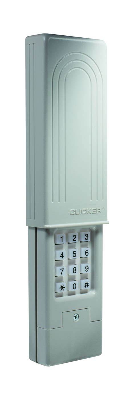 Setting Clicker Garage Door Opener Wireless Keypads Chamberlain