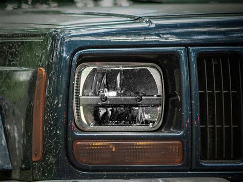Led Headlight 5x7 Jeep Xj Country Wrangler Yj Taft Toyota 5 Quot X 7 Quot Led Headlight Universal White Black Rigid