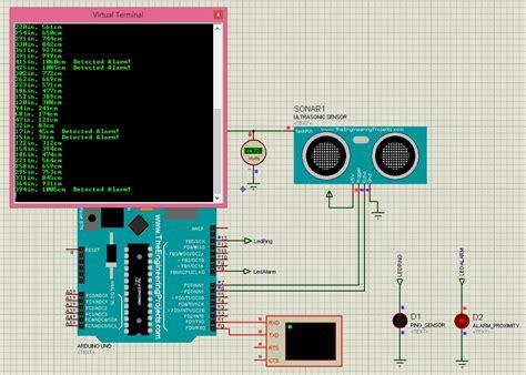 best ultrasonic sensor ultrasonic sensor simulation in proteus the engineering