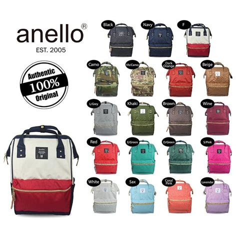 Anello Bag Series Original Green At B0193a anello backpack polyester large at b0193a www thebagstreet