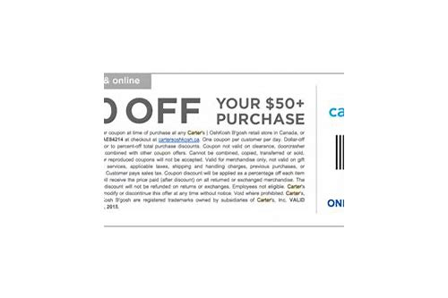 carters osh kosh coupon canada
