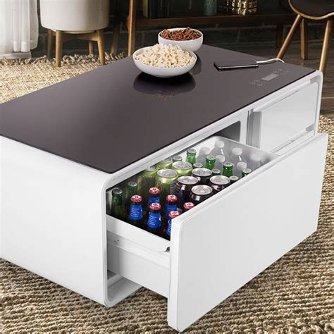 sobro coffee table price sobro refrigerator coffee table 187 petagadget