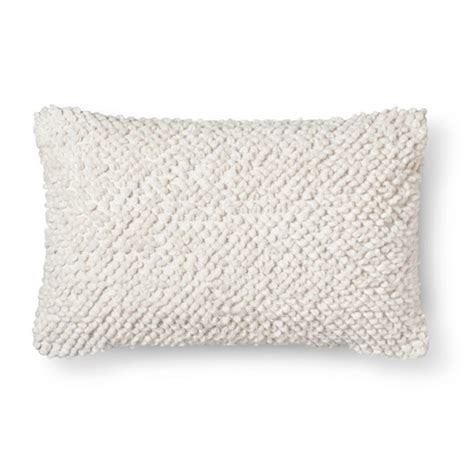 Textured Pillows by Oblong Textured Throw Pillow Threshold Target