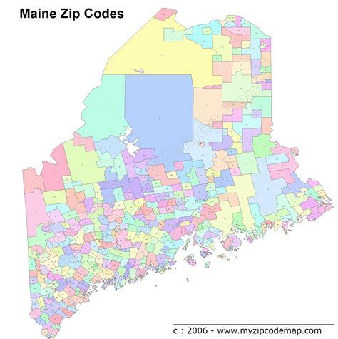 zip code map maine maine zip code maps free maine zip code maps