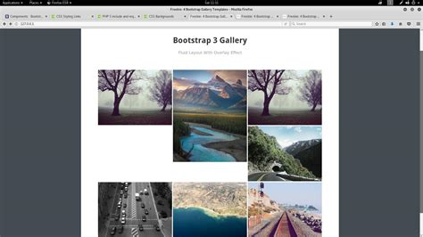 bootstrap layout gallery jquery bootstrap gallery white spaces stack overflow