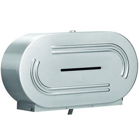 dual roll toilet tissue dispenser jumbo dual roll tissue dispenser unoclean