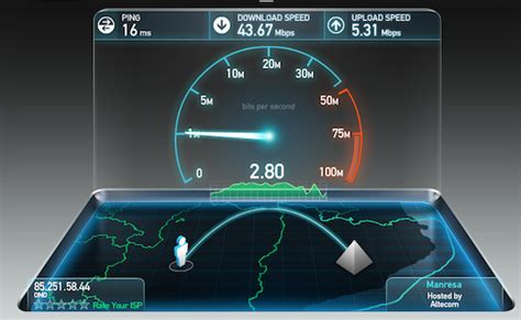 spped test adsl test adsl maroc menara d 233 bit connexion