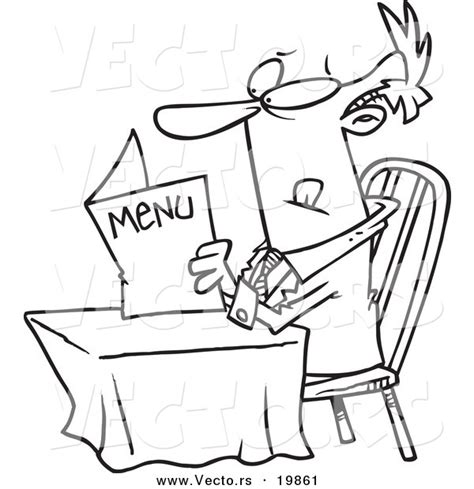 restaurant coloring pages