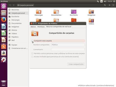 imagenes en html desde una carpeta c 243 mo compartir una carpeta desde ubuntu 16 04 v 237 a samba