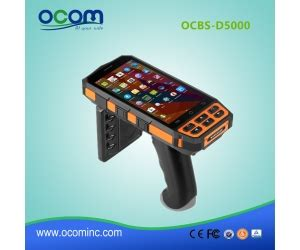 ocbs d5000 handheld android portable mobile data collector