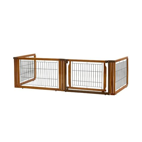 convertible elite 4 panel pet gate