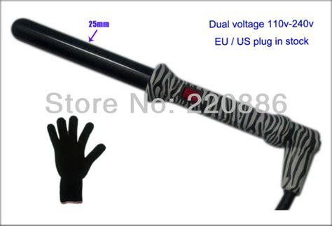 Hair Culcer Hc 129 Barrel Curling Iron zebra curling iron hair curling wand gic hc219c barrel 25mm 1 quot dual voltage 110v 240v