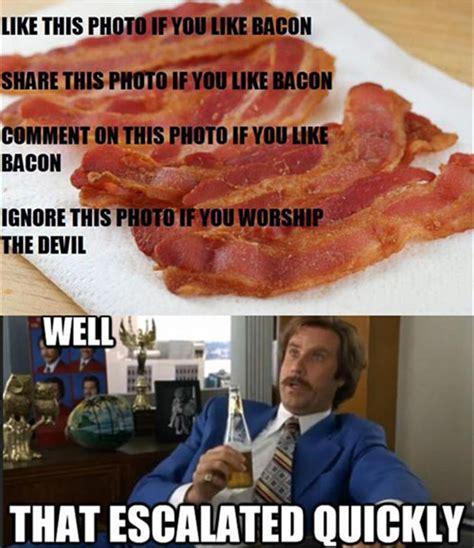 Funny Bacon Meme - funny bacon 4 dump a day
