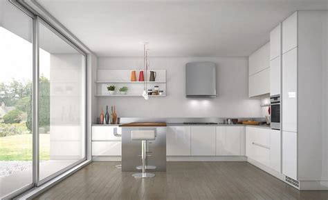 White L Shaped Kitchen With Island White Kitchen Ideas Ideal For Traditional And Modern Designs Amaza Design