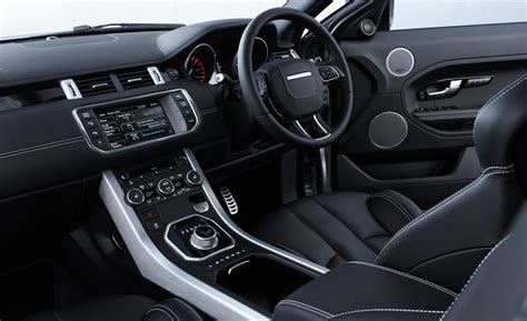 2013 land rover range rover evoque interior overview