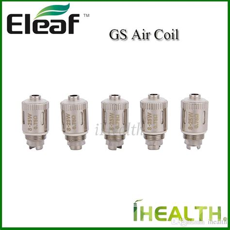 Eleaf Gs Air Atomizer Series Coil Replacement For Gs Tank 100 original eleaf gs air 2 replacement coil 0 75ohm cotton coil compatible
