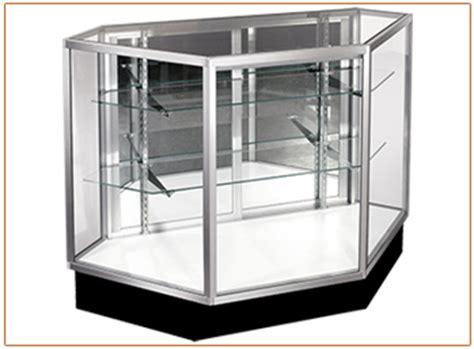 Showcase Rsa Vision 221 36 quot inside corner showcase mirrored door american hanger fixture
