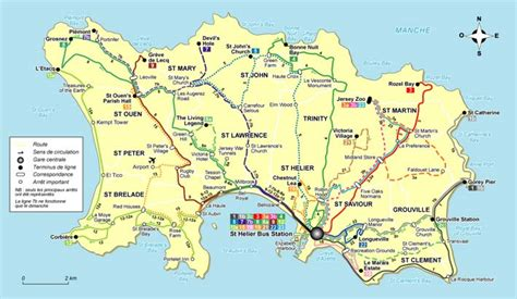 0004490363 carte touristique jersey en ile de jersey agence de voyages vannes