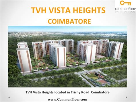 tvh vista heights coimbatore