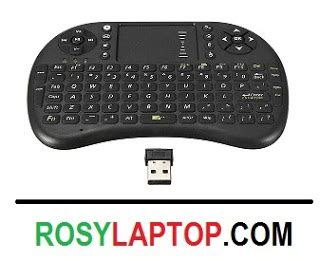Keyboard Eksternal Mini Keyboard Mini Wireless Mouse Touchpad Rosy Laptop Malang