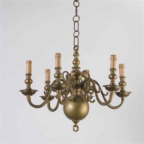brass light gallery vintage chandelier 6 arm brass candle chandelier from