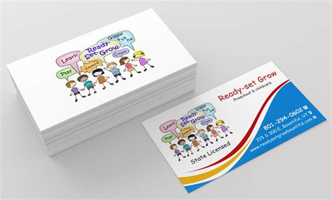 Childcare Business Cards Templates by Child Care Business Cards Images Business Card Template