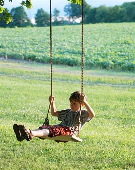 a swing diy tree swing 187 the merrythought
