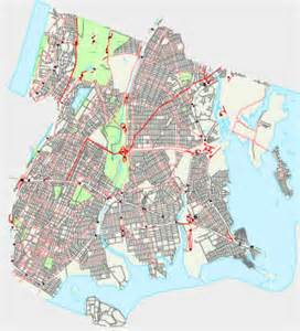 Map Of New York Bronx by Bronx City Map