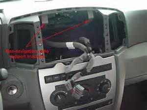 jeep grand wk rec navigation radio