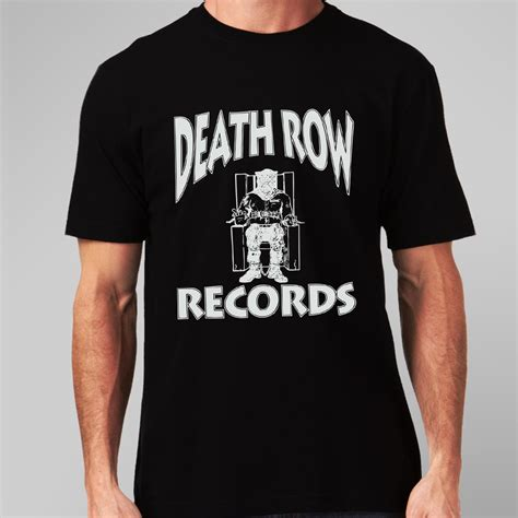 Records T Shirt Buy Deathrow Records T Shirt Uk Clothes Store
