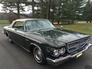 1964 Chrysler 300 For Sale 1964 Chrysler 300 Convertible For Sale Photos Technical