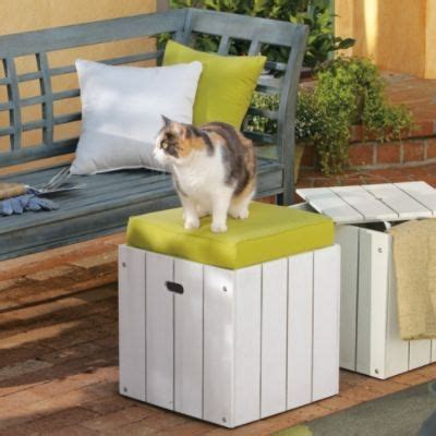 outdoor storage cube ottoman 23 best images about outdoor storage ideas on pinterest