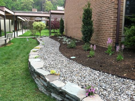 River Rock Landscaping Ideas Innovative Garden Design Of A Small Property The Garden Diaries