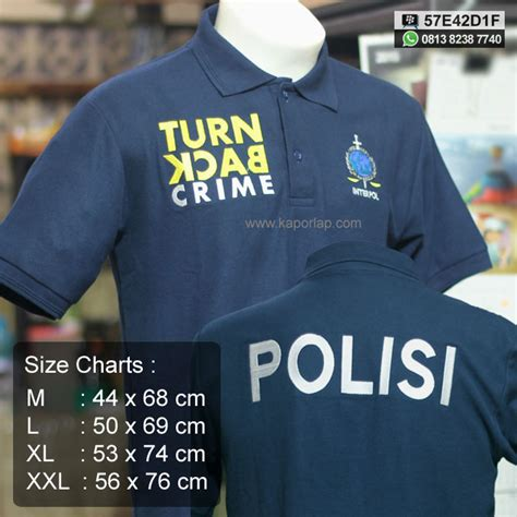 Grosir Best Seller Kaos Polo Turn Back Crime kaos turn back crime toko kaporlap