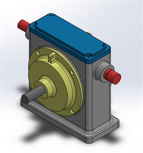 solidworks tutorial gearbox exploded view in solidworks tutorial 12cad com