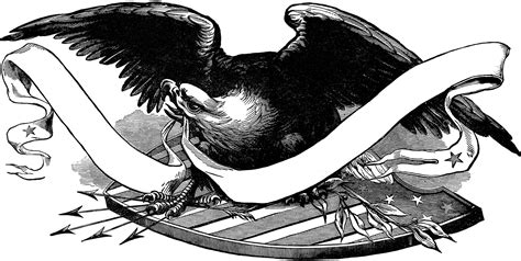 public domain patriotic eagle image  graphics fairy