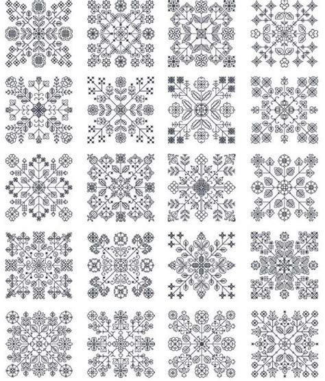 blackwork pattern large blackwork sler sewing embroidery pinterest