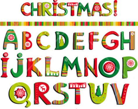 printable alphabet letters christmas christmas alphabet clipart 101 clip art