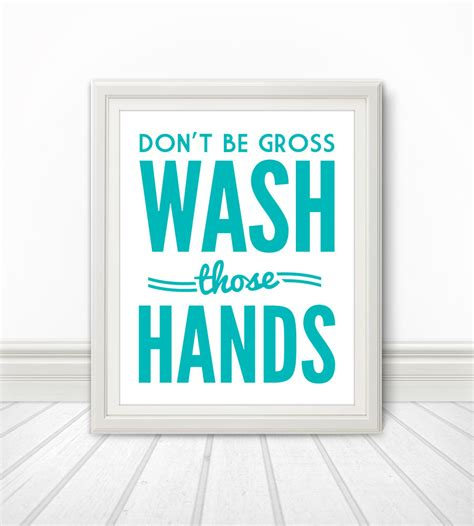 bathroom signs wash your hands 5 best images of funny restroom signs printable