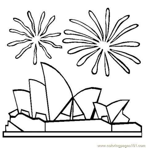 coloring page of sydney opera house sydney opera house coloring page free houses coloring