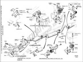 Ford Exhaust System Diagram Ford F 150 Exhaust System Diagram Ford Mustang Photo