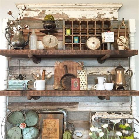 booth crush antique booth shelving booth decor