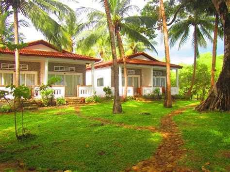 the cottage resort sustainability is key at the bamboo cottages resort in
